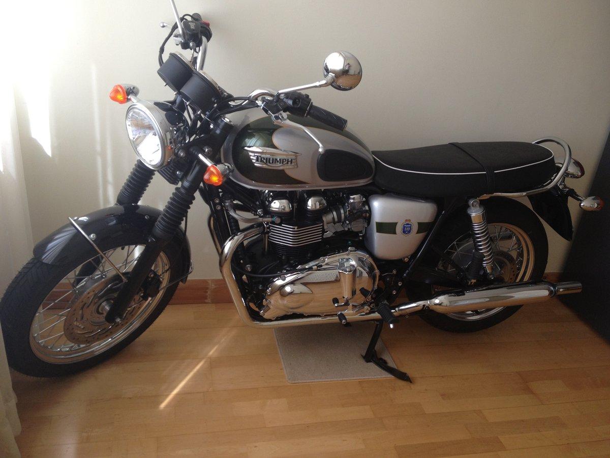 2012 Triumph Bonneville T100 SOLD (picture 2 of 6)
