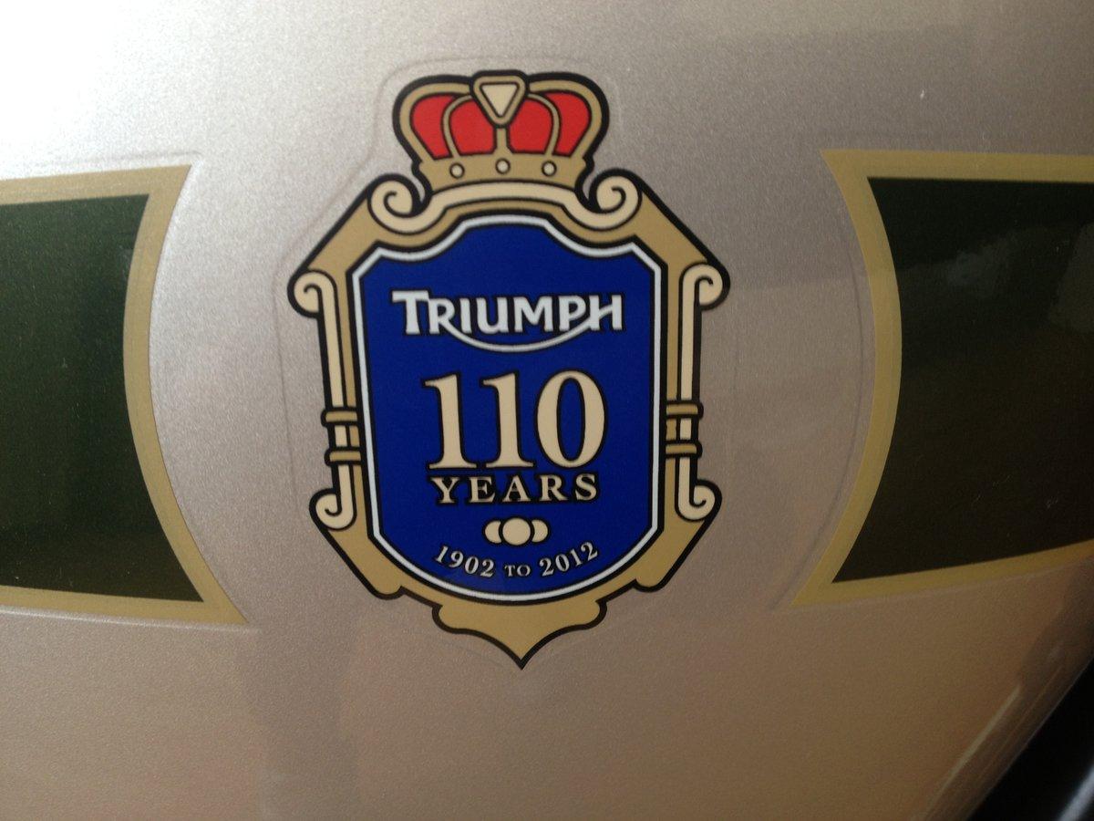 2012 Triumph Bonneville T100 For Sale (picture 3 of 5)