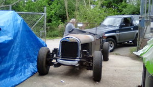 1967 Hot Rod Unfinished Project triumph based sports,