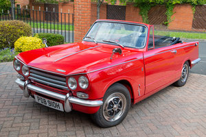 1969 Triumph Vitesse MKII Convertible - Full Resto - The Market