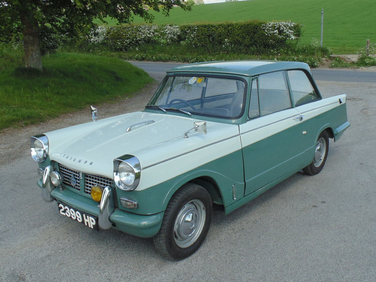 1960 Triumph herald 948 SOLD (picture 1 of 6)