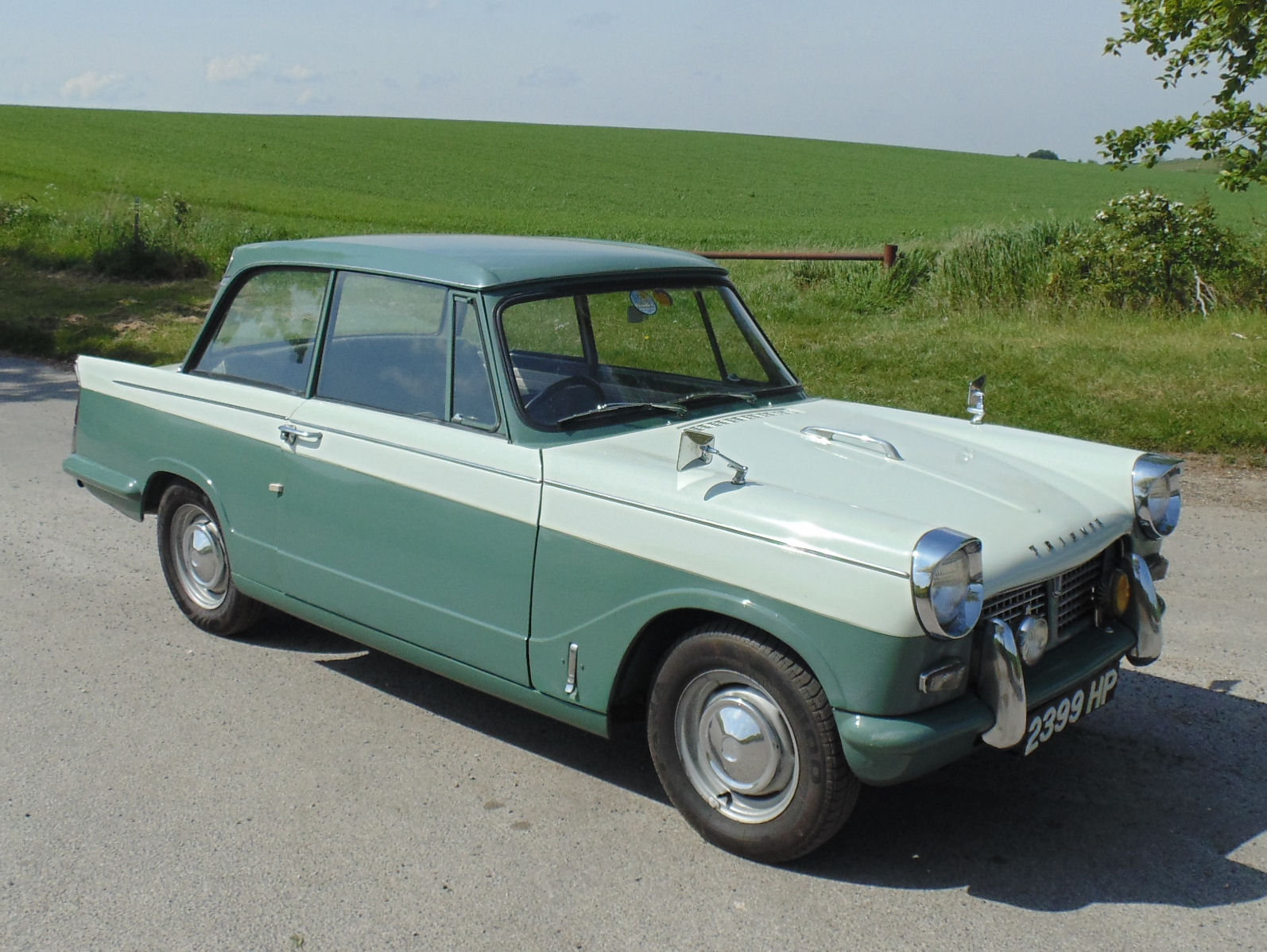 1960 Triumph herald 948 SOLD (picture 2 of 6)