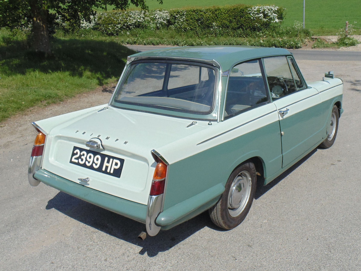1960 Triumph herald 948 SOLD (picture 3 of 6)