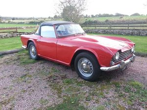 1965 Triumph TR4 at Morris Leslie Auction 25th May For Sale by Auction