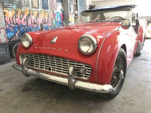 Triumph TR3 1960 - Ready for the Summer! For Sale