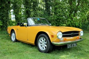 1972 Triumph TR6 - Very Good Condition. Lots Of Upgrades For Sale