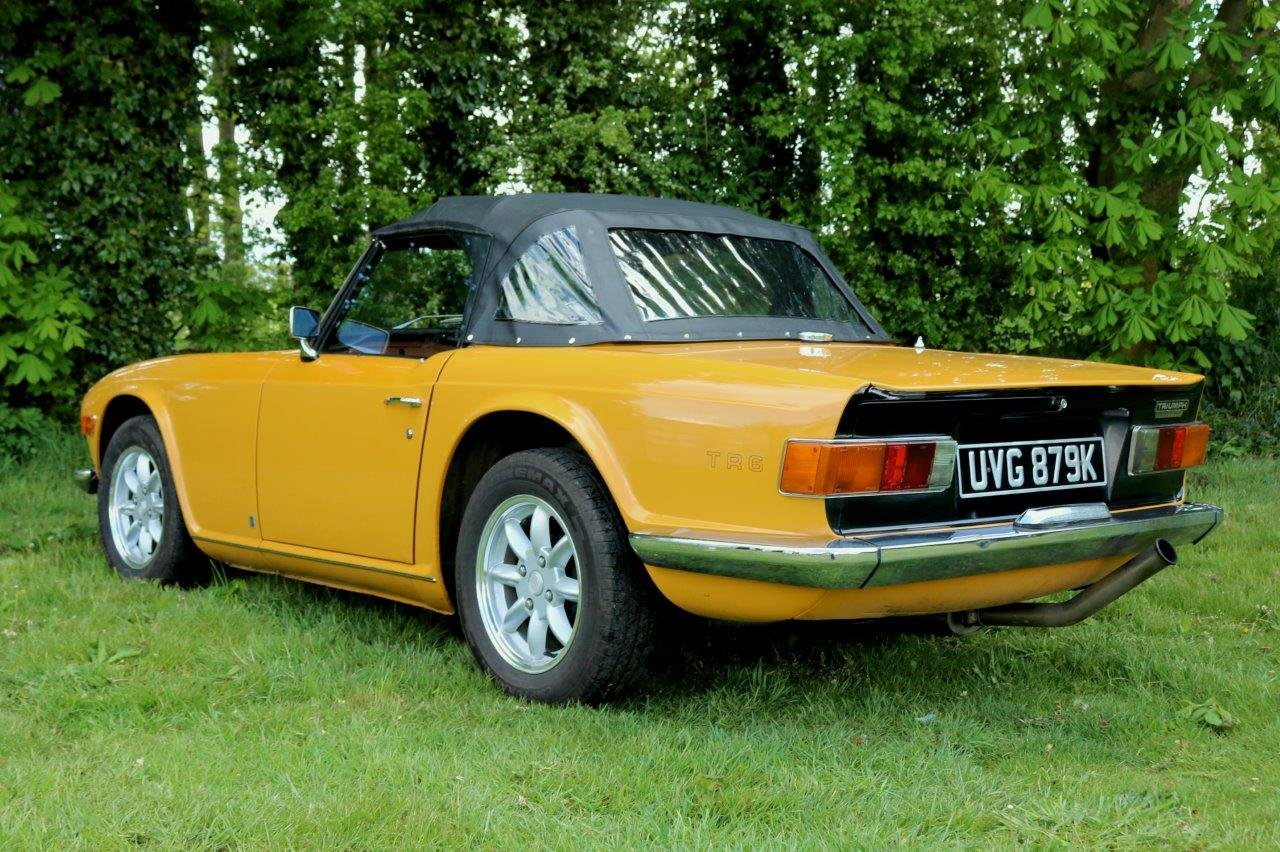 1972 Triumph TR6 - Very Good Condition. Lots Of Upgrades For Sale (picture 2 of 6)