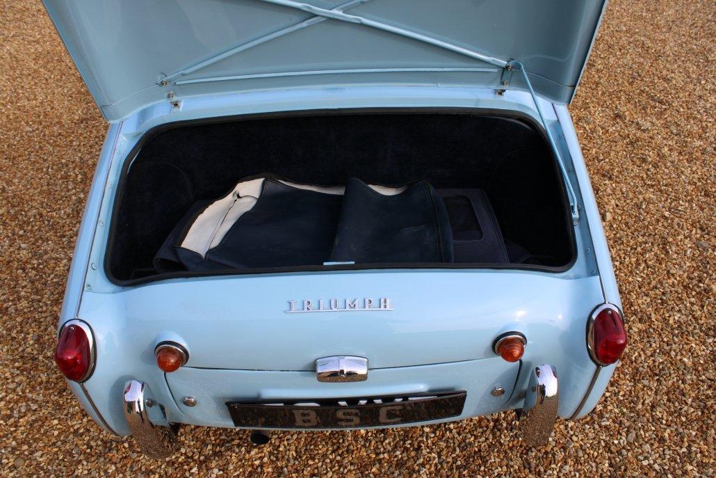 1960 TRIUMPH TR3A For Sale (picture 8 of 12)