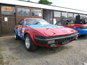 1980 Triumph TR8 - Hill climb and track car