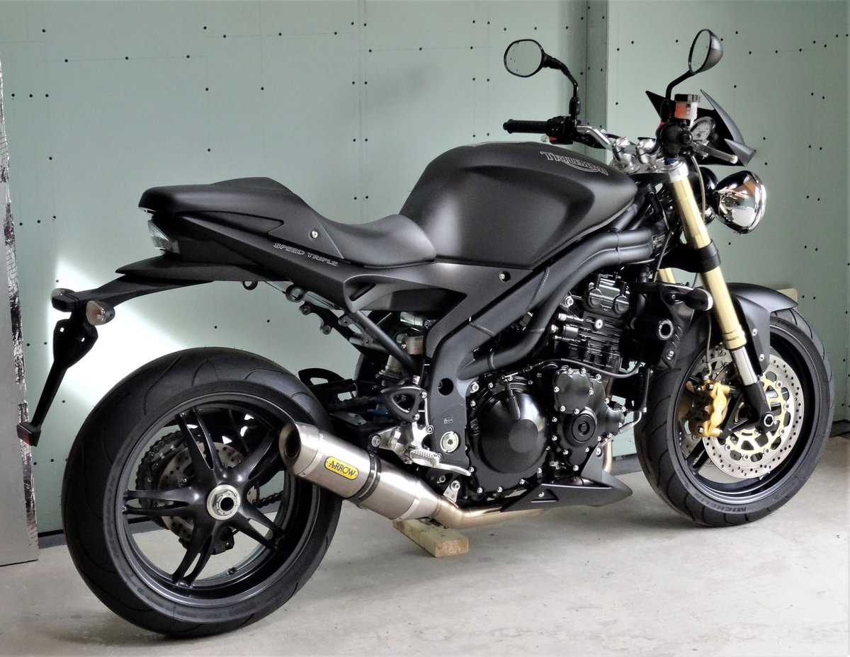 2009 Triumph Speed Triple Special Just 9 Pdi Miles For Sale Car