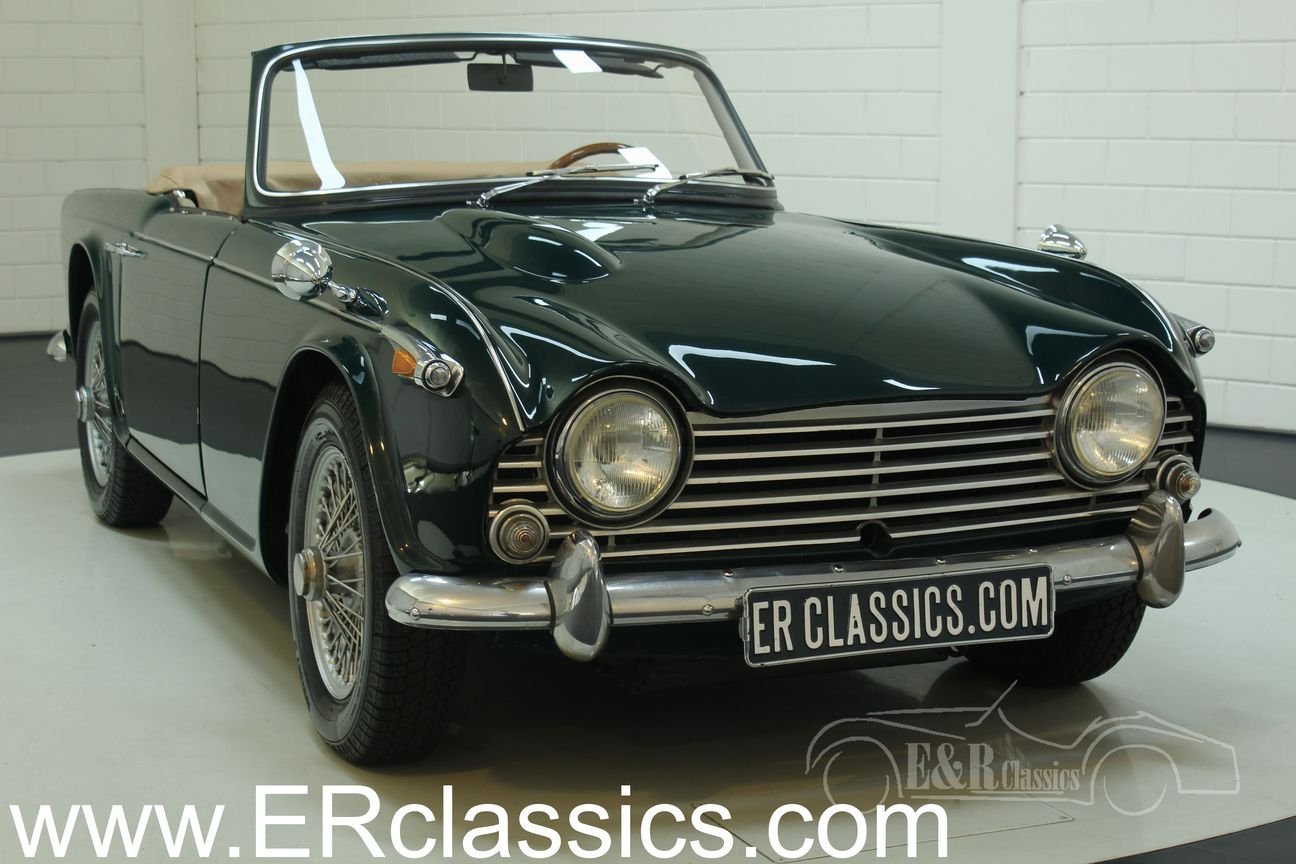 Triumph TR4 A IRS 1967 restored For Sale (picture 1 of 6)