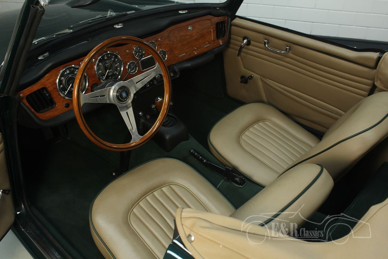 Triumph TR4 A IRS 1967 restored For Sale (picture 3 of 6)