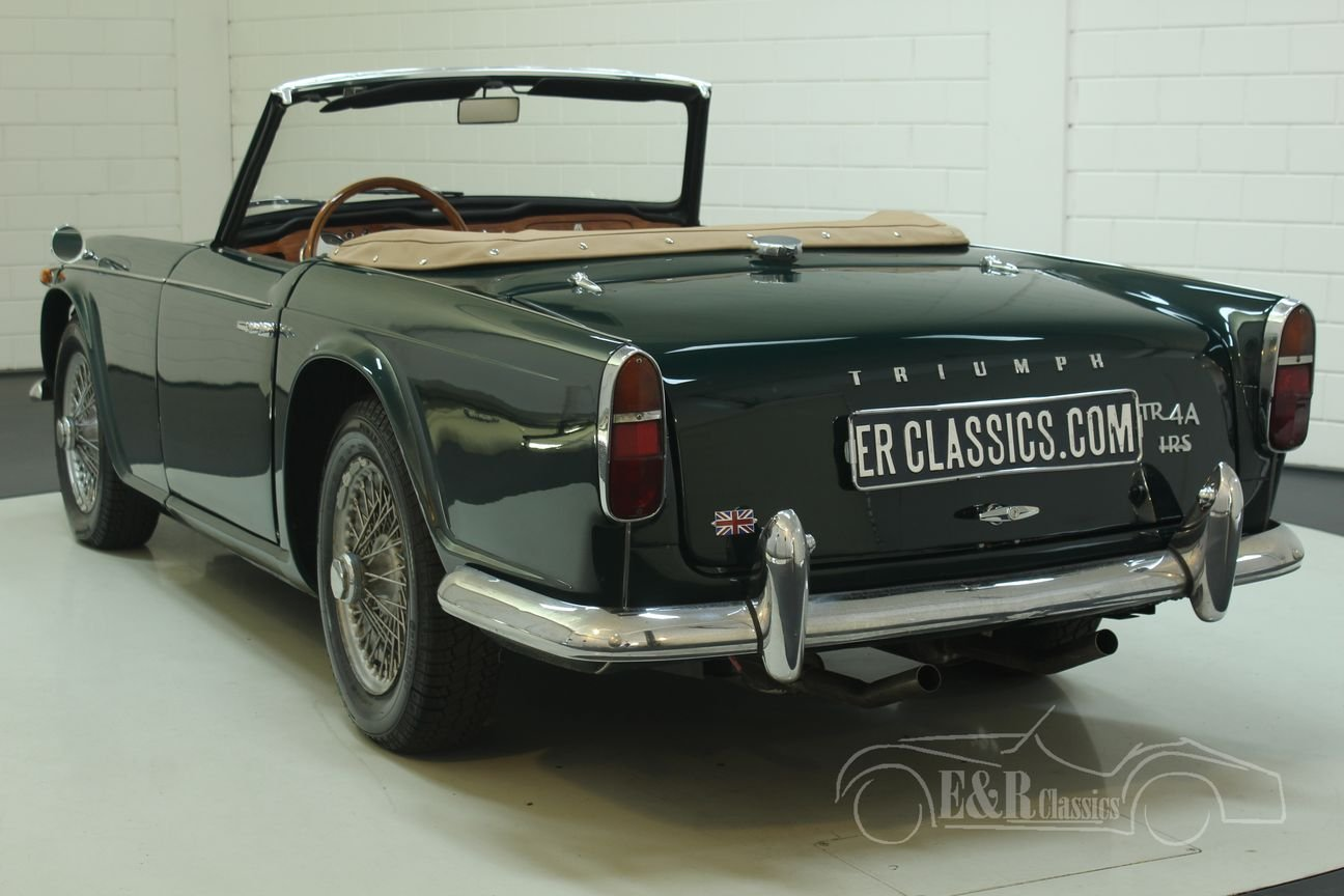 Triumph TR4 A IRS 1967 restored For Sale (picture 5 of 6)