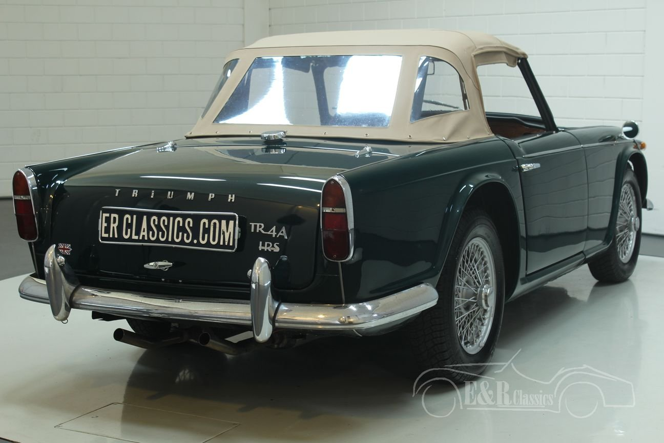 Triumph TR4 A IRS 1967 restored For Sale (picture 6 of 6)