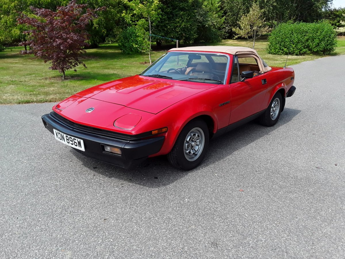 1981 Triumph TR7 Convertible For Sale (picture 2 of 6)