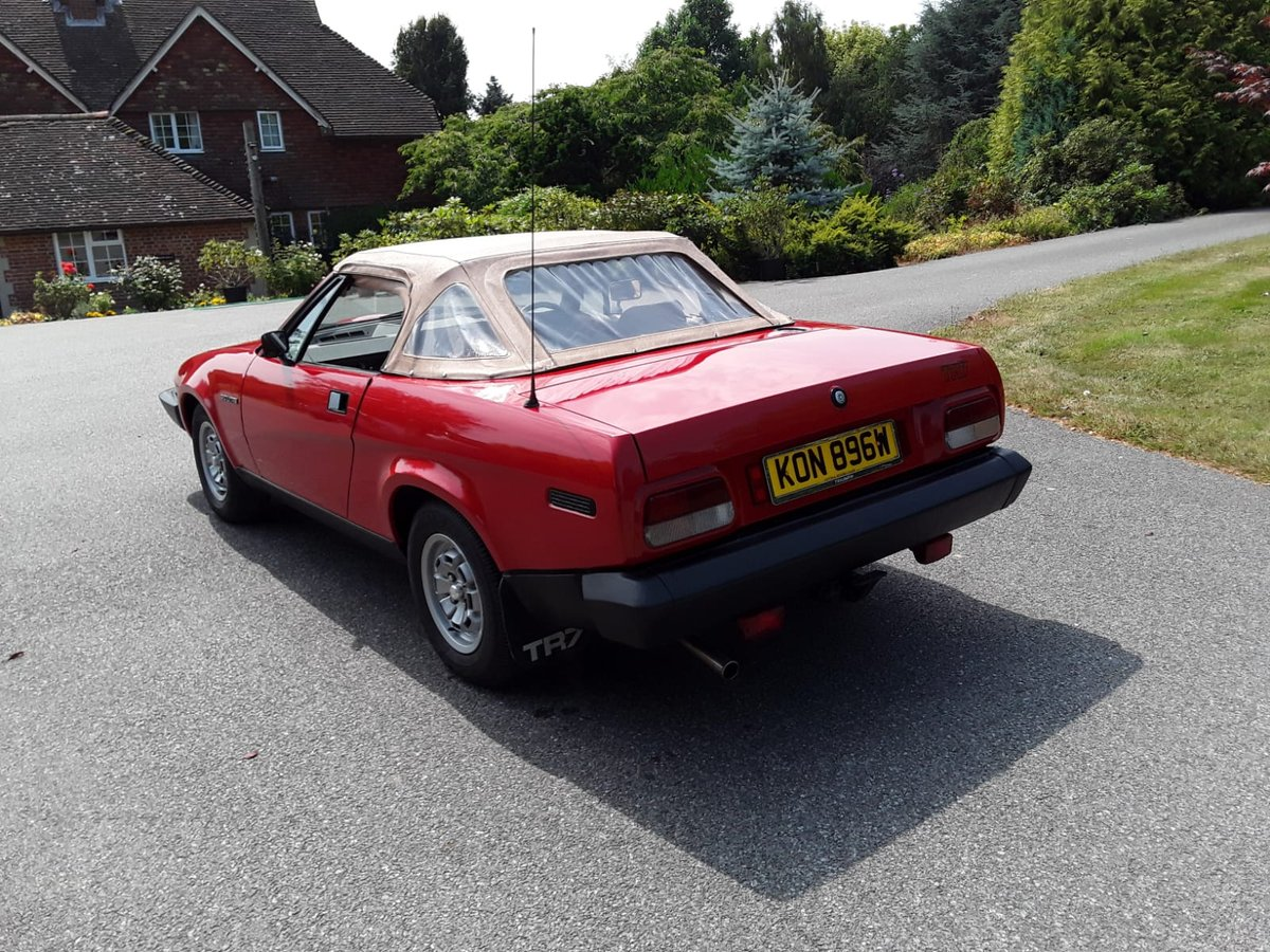 1981 Triumph TR7 Convertible For Sale (picture 3 of 6)