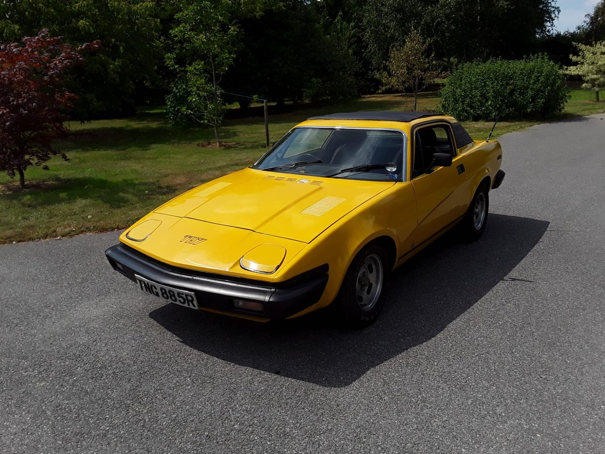 1977 Triumph TR7 Coupe For Sale (picture 1 of 6)