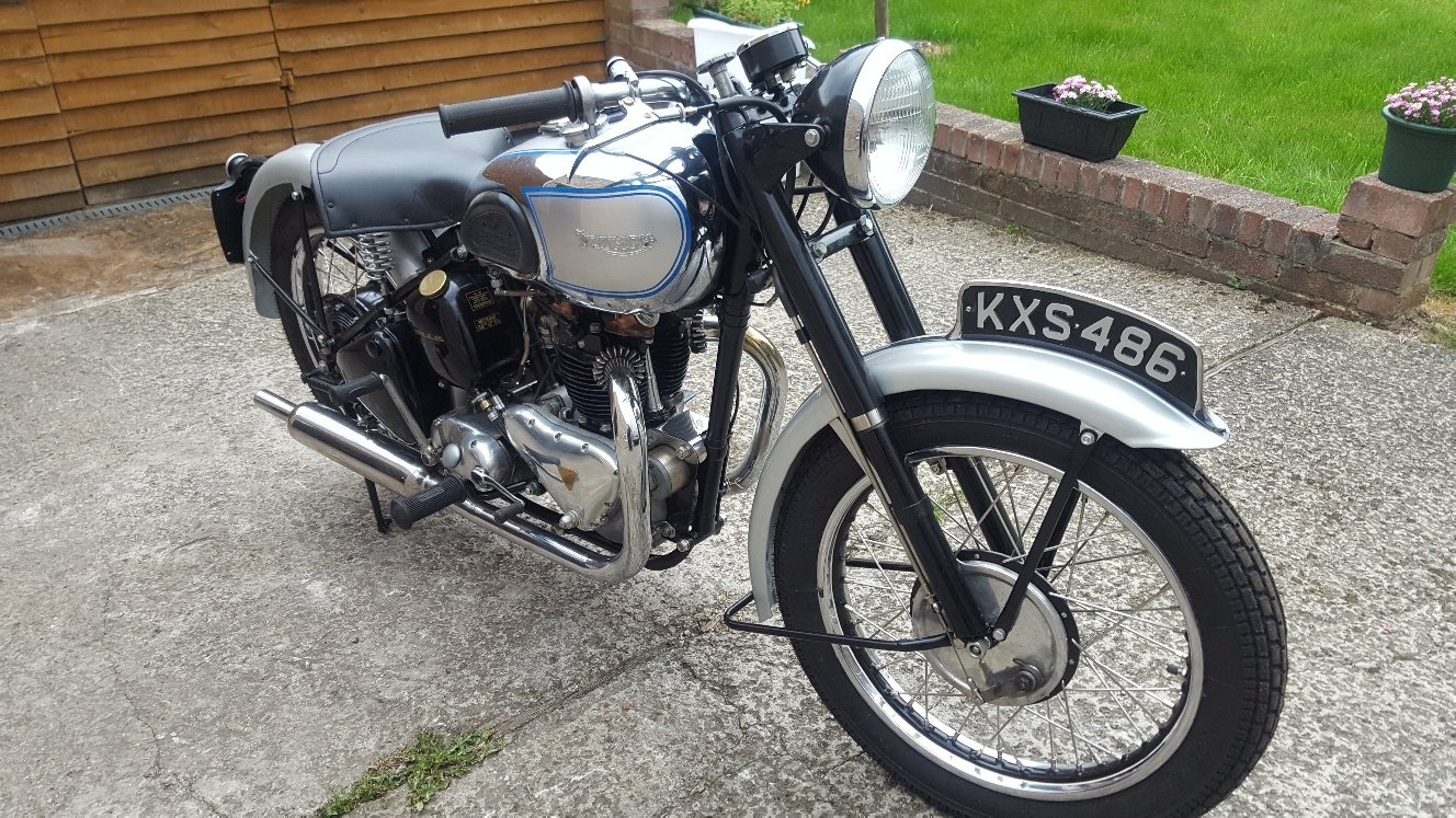 1948 Triumph T100. V5C. Good Runner For Sale (picture 2 of 6)