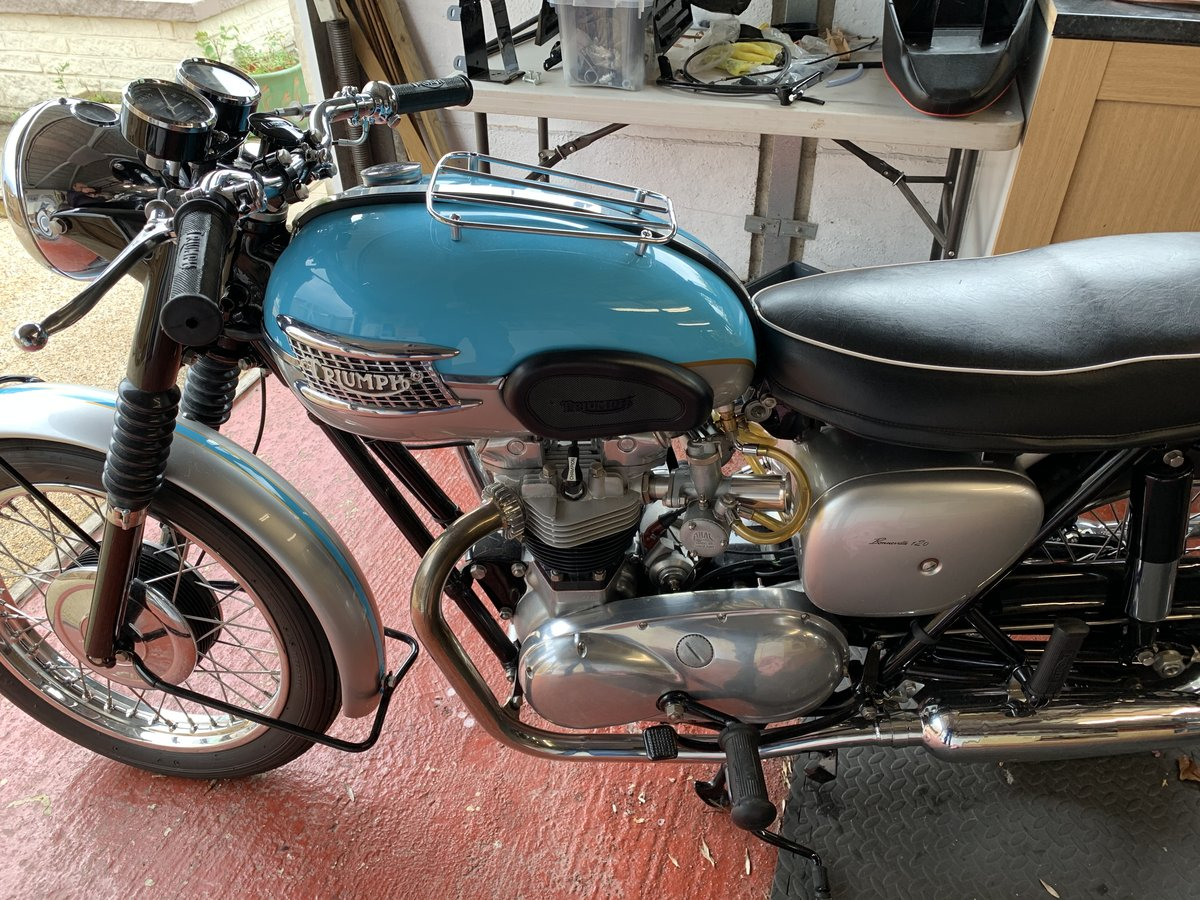 1960 THE BEST TRIUMPH BONNEVILLE YOU WILL FIND SOLD (picture 5 of 5)