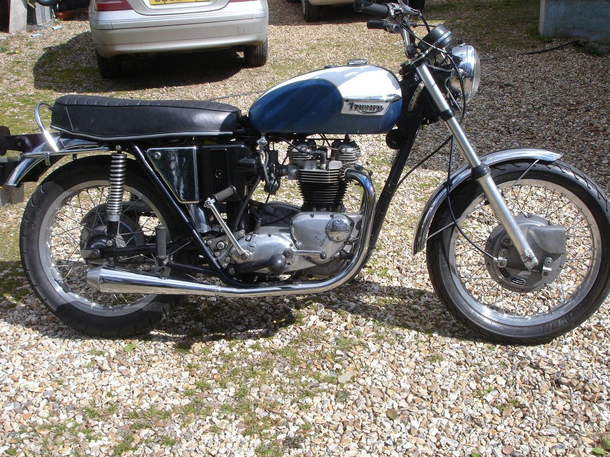 triumph 1972 650 tr6r SOLD (picture 1 of 6)