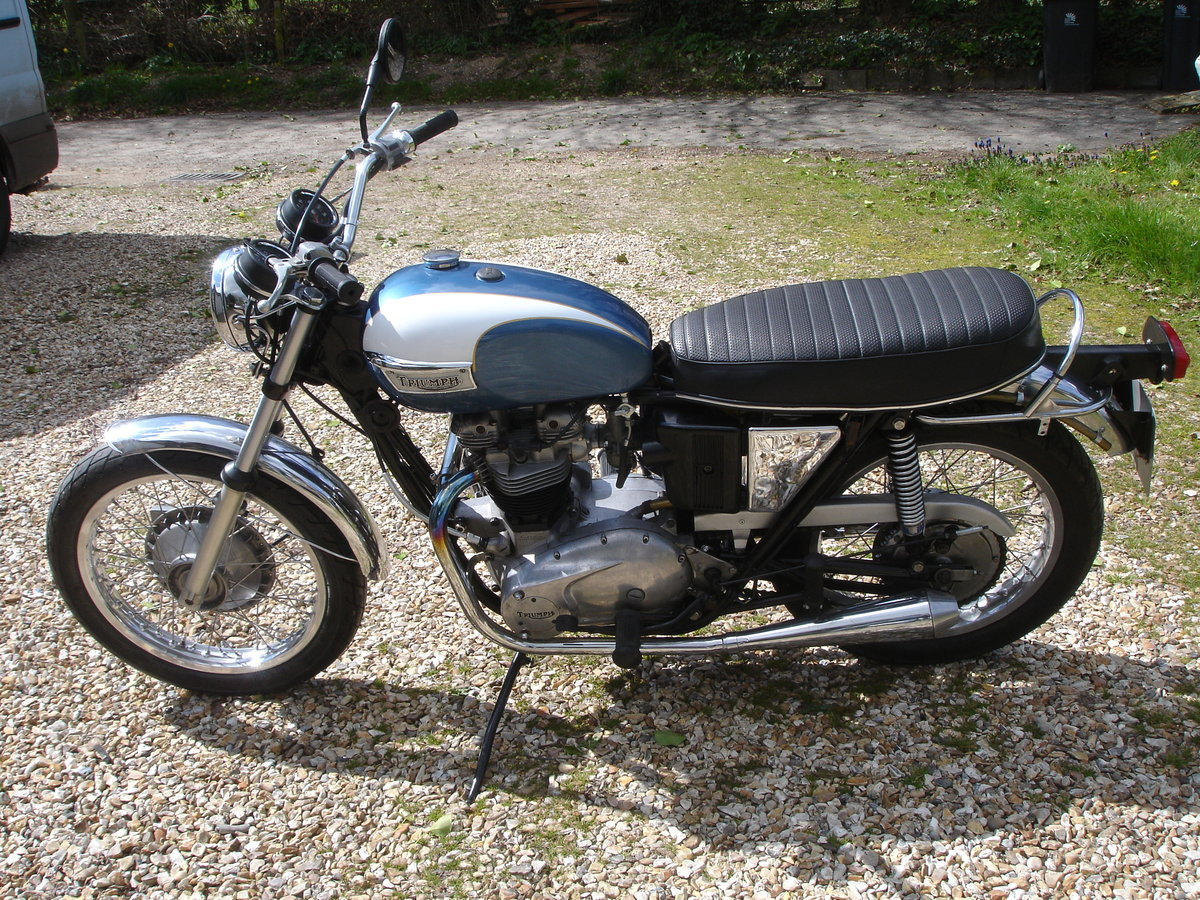 triumph 1972 650 tr6r SOLD (picture 2 of 6)