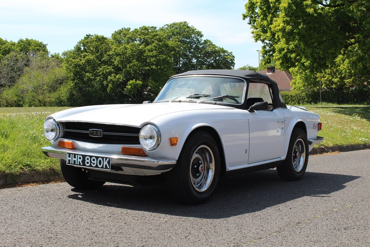 Triumph TR6 1972 - To be auctioned 26-07-19 For Sale by Auction (picture 1 of 6)