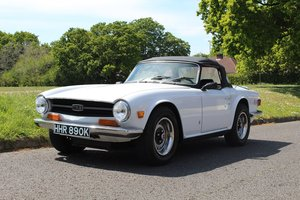 Triumph TR6 1972 - To be auctioned 26-07-19 For Sale by Auction