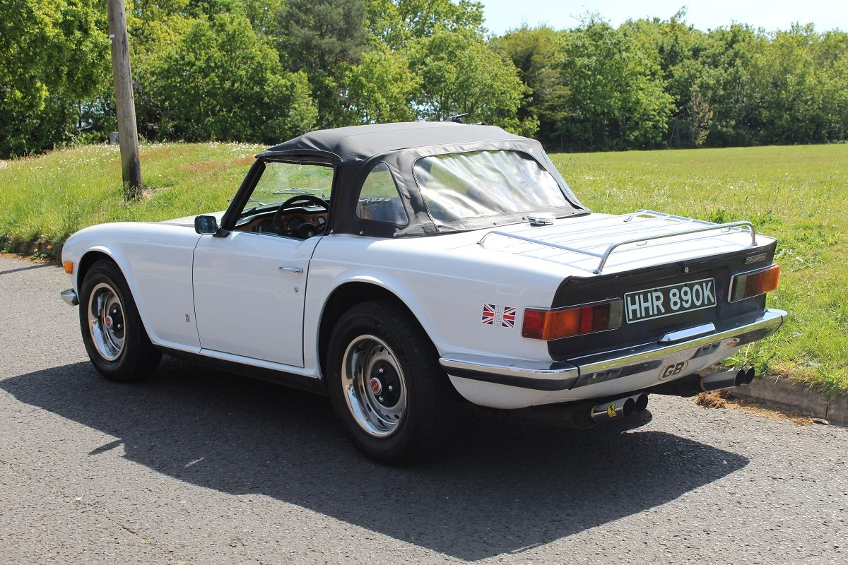 Triumph TR6 1972 - To be auctioned 26-07-19 For Sale by Auction (picture 2 of 6)