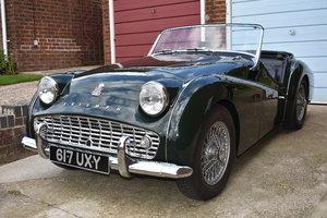 A 1961 Triumph TR3A - 21/07/2019 For Sale by Auction