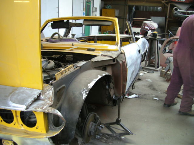 1970 One of the first Stags off the production line For Sale (picture 6 of 6)