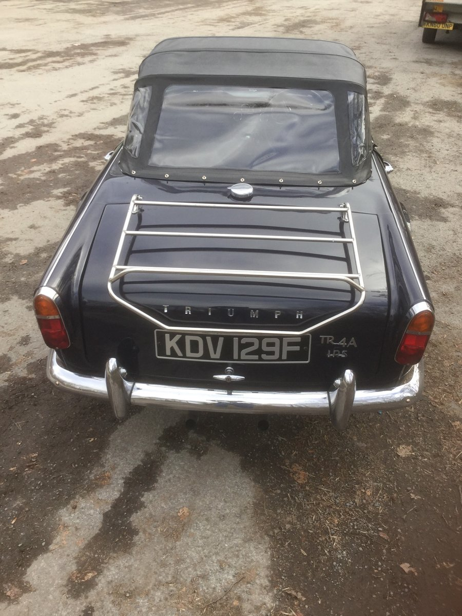 1967 Triumph tr4 irs for sale SOLD (picture 3 of 6)
