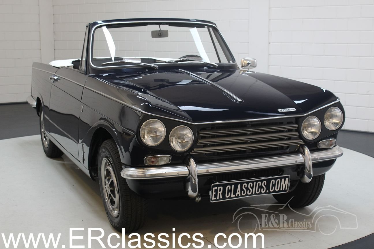 Triumph Vitesse cabriolet 1970 Body-off restored, overdrive For Sale (picture 1 of 6)