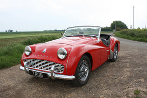 TR3A 1960 FULLY RESTORED AND IN EXCEPTIONAL CONDITION SOLD