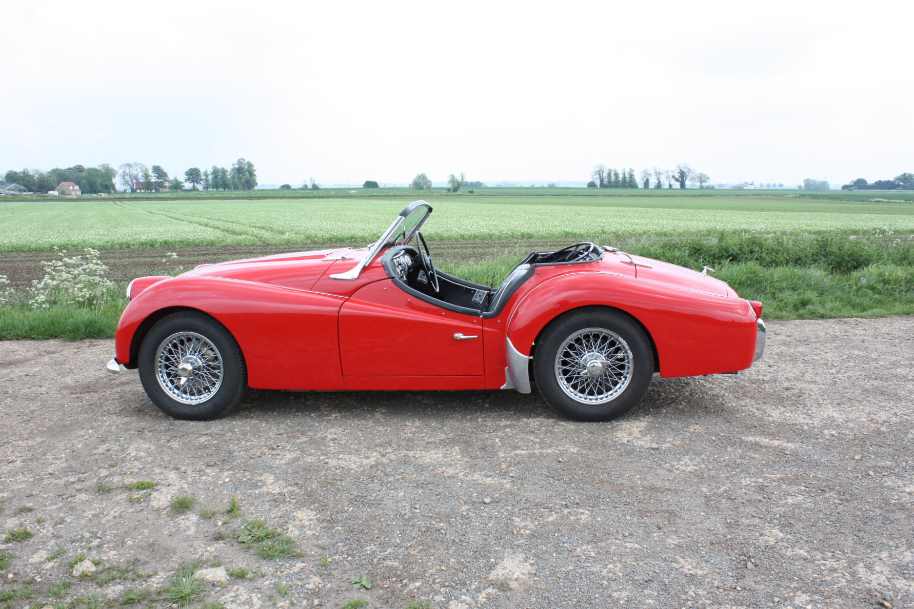 TR3A 1960 FULLY RESTORED AND IN EXCEPTIONAL CONDITION SOLD (picture 5 of 6)