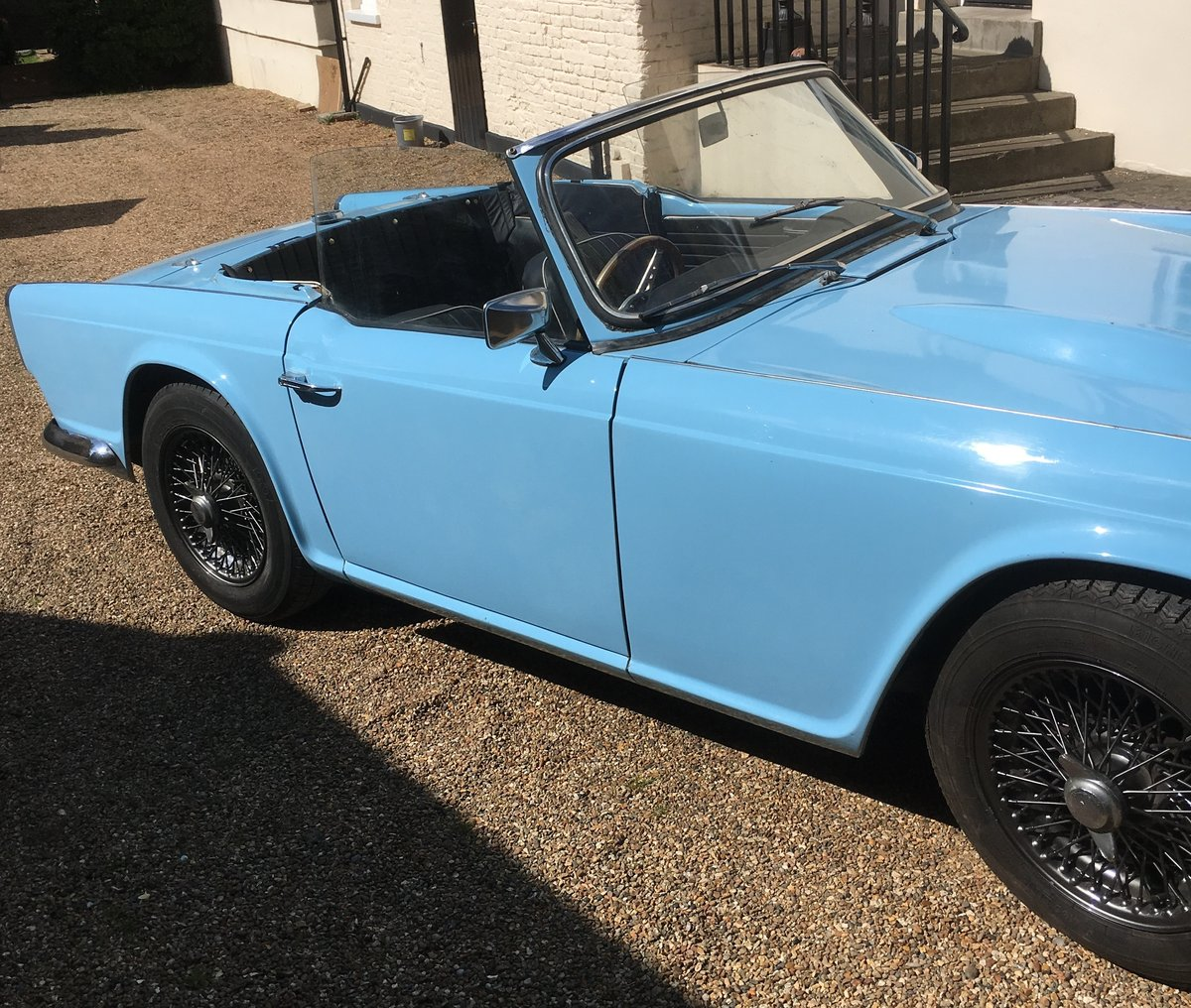 TRIUMPH TR4 - 1964 SOLD (picture 5 of 6)