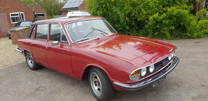 1976 Triumph 2.5 PI Auto running on Twin SU Carbs For Sale
