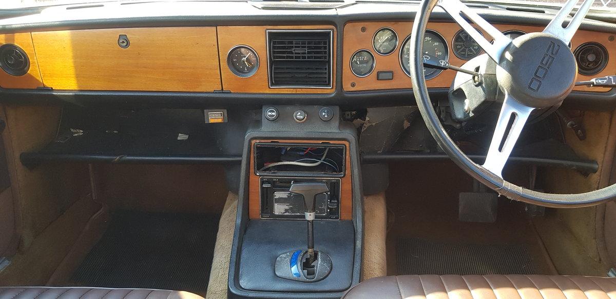 1976 Triumph 2.5 PI Auto running on Twin SU Carbs For Sale (picture 5 of 6)