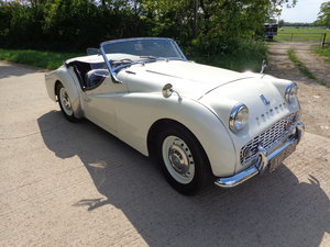 1959 A VERY TIDY TR3A - THE SUBJECT OF MUCH RECENT EXPENDITURE! For Sale
