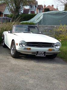 1971 Triumph tr 6 150 bhp model
