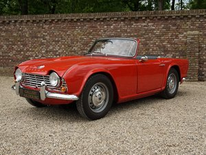 1962 Triumph TR4 convertible fully restored condition For Sale