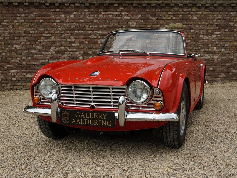 1962 Triumph TR4 convertible fully restored condition For Sale (picture 6 of 6)