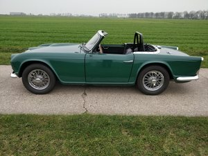 1964 Triumph TR4'64 BRG For Sale