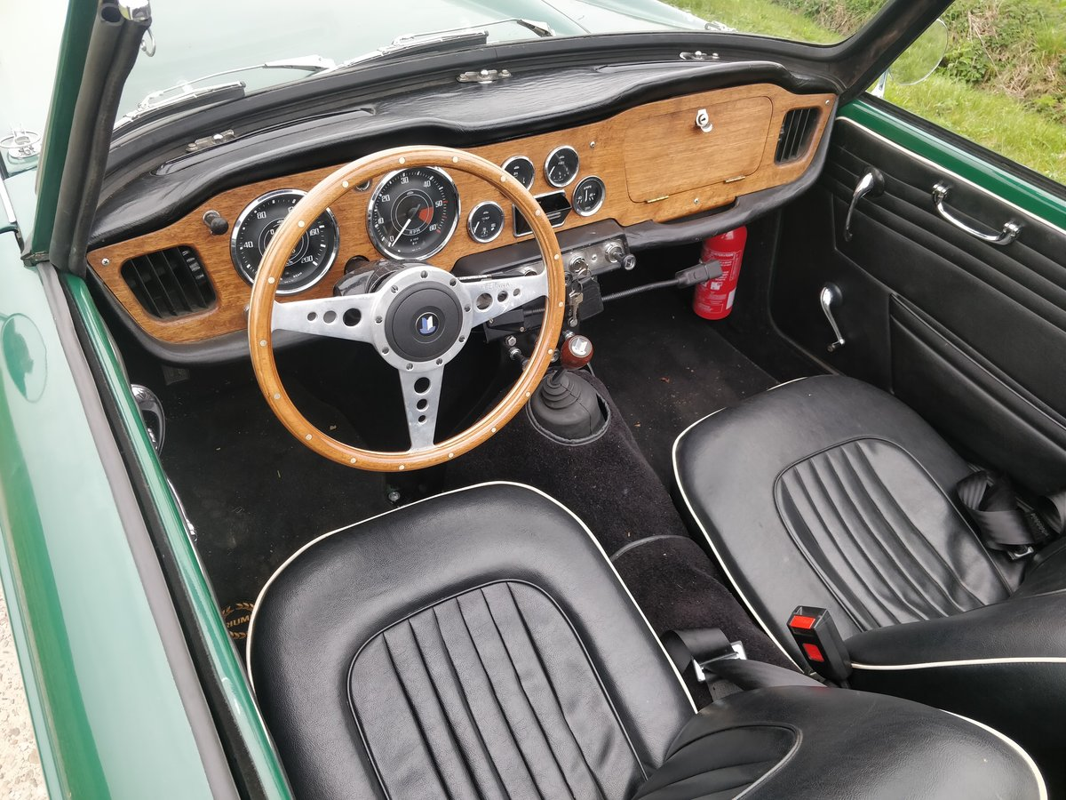 1964 Triumph TR4'64 BRG For Sale (picture 6 of 6)