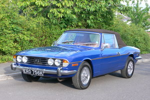 1972 Triumph Stag with Hardtop For Sale by Auction