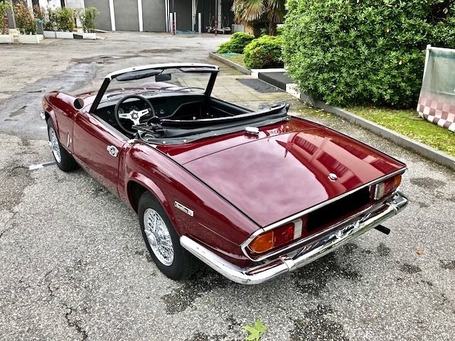 Triumph - Spitfire MKIV - 1972 SOLD (picture 2 of 6)