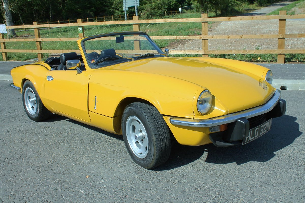 1975 Triumph Spitfire 1500 With Overdrive Excellent SOLD (picture 1 of 6)