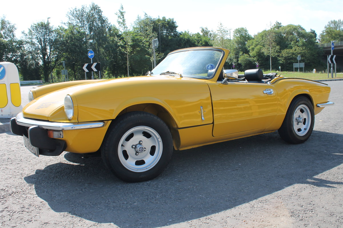 1975 Triumph Spitfire 1500 With Overdrive Excellent SOLD (picture 2 of 6)