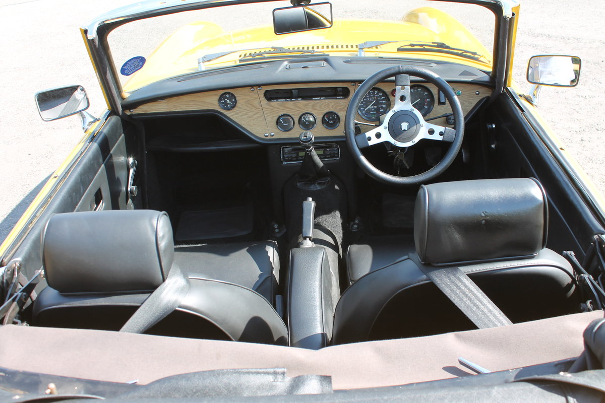 1975 Triumph Spitfire 1500 With Overdrive Excellent SOLD (picture 5 of 6)