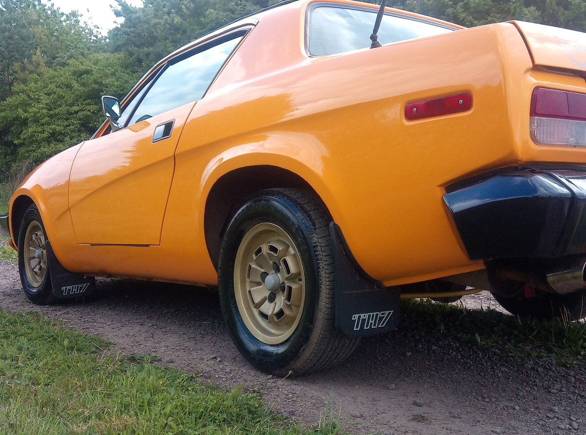 1982 Triumph TR7 1 OWNER RECENT BUILD VERY CLEAN For Sale (picture 3 of 6)