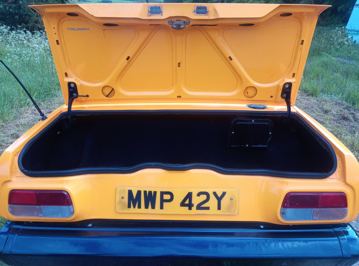 1982 Triumph TR7 1 OWNER RECENT BUILD VERY CLEAN For Sale (picture 5 of 6)